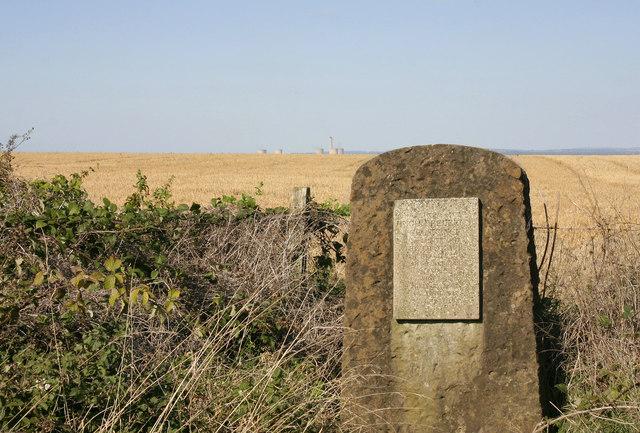 Grosvenor Memorial, Ridgeway National Trail