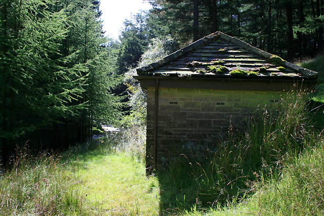 Disused Water Monitoring Hut