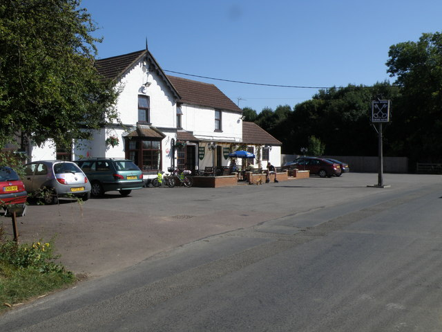 The Cross Keys on a glorious September day