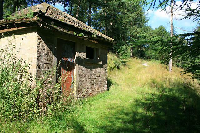 Disused Water Monitoring Hut