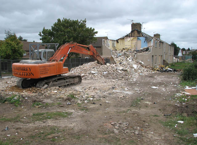 Redevelopment in Wisbech Road
