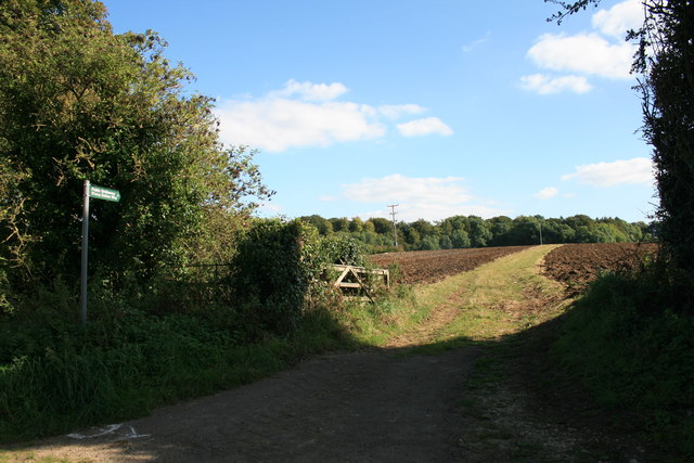 Bridleway from Little Barrington