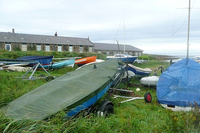 Boats at Low Newton