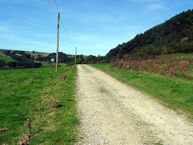 Track from Marske to Clints