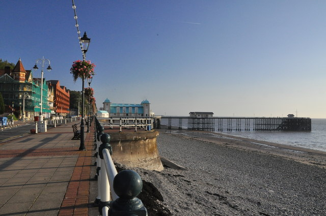 The Esplanade, beach and pier - Penarth