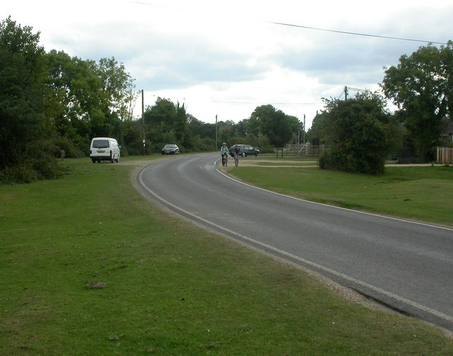 South Gorley, lawn
