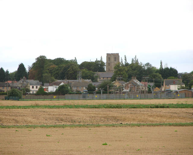 View towards the village of Littleport