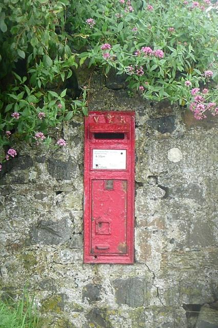 Low Newton post box