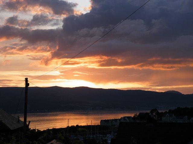 Kip Marina sunset