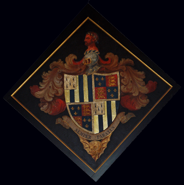 Church of St. Maurice, Horkstow - Hatchment