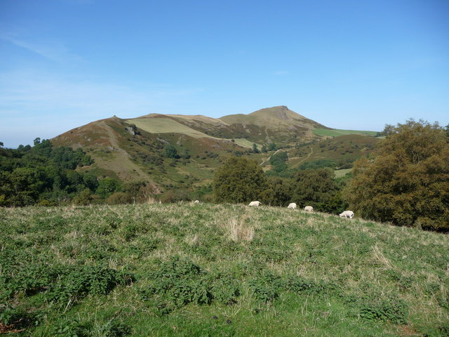 Caer Caradoc from the south west
