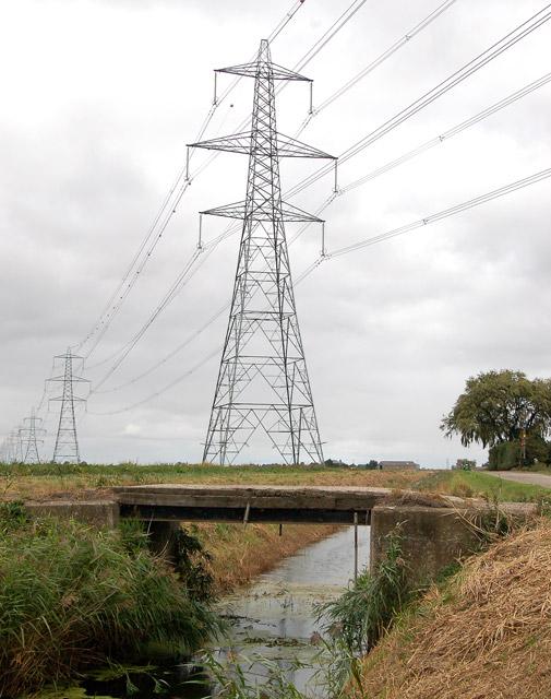 Bridge over Middle Leading Drain
