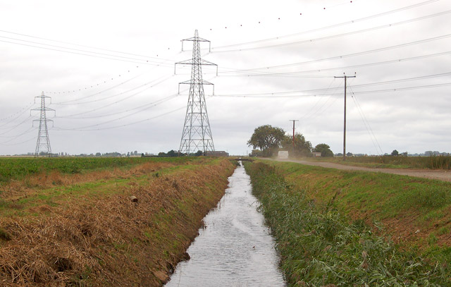 Middle Leading Drain
