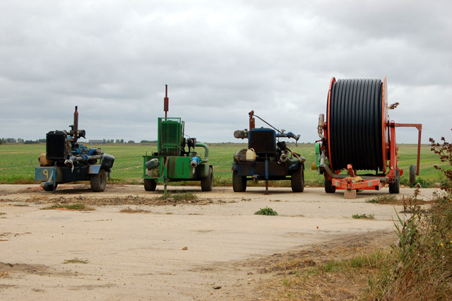 Irrigation equipment, Martins Farm