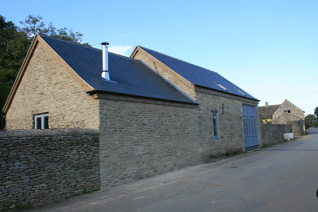 Newly converted barn in Kencot