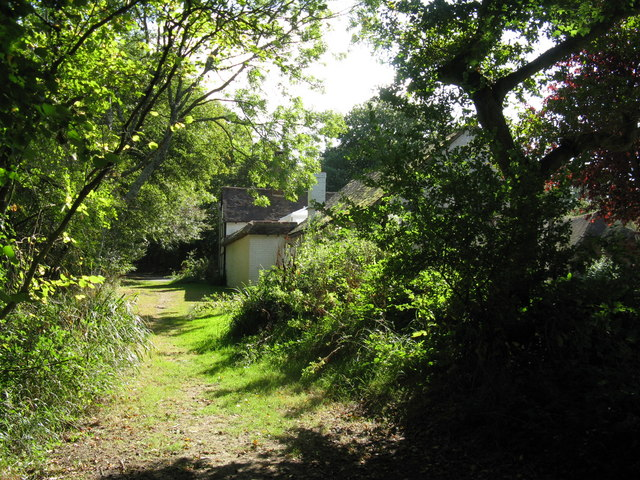 Cottage at the junction of bridleways