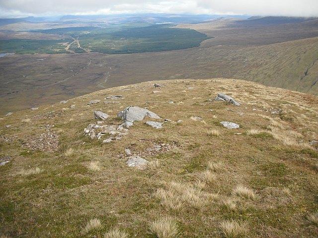 Northeast ridge, Beinn a' Chreachain