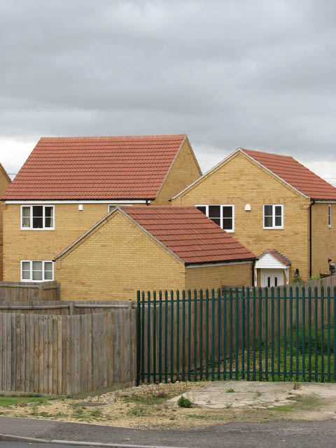 New housing in Station Road