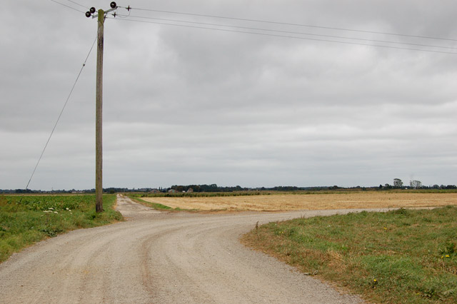 Looking east from Sedgedrove Farm