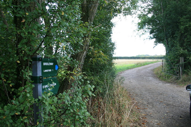 Bridleway to Langford