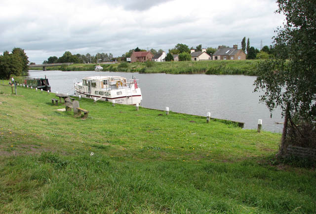 Moorings on the River Great Ouse