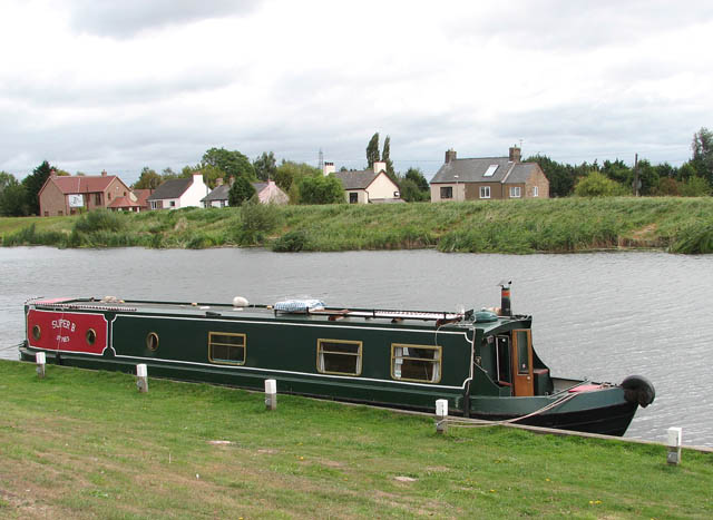 Moored on the River Great Ouse
