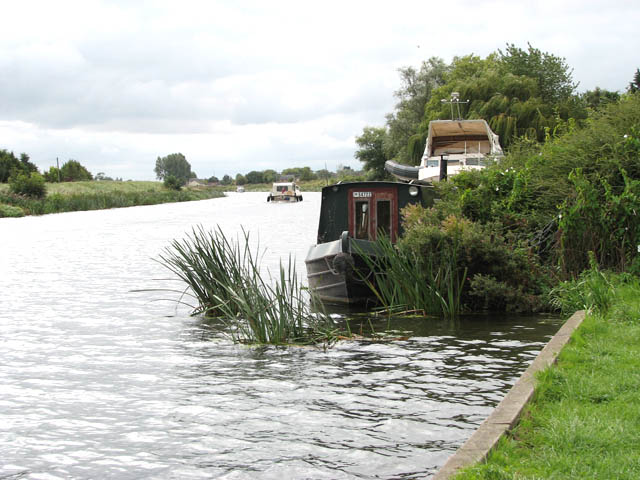 View south along the River Great Ouse