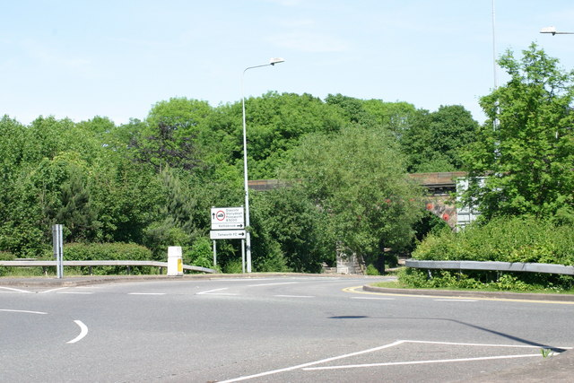 Ankerdrive leading on to the B5000 Glascote Road  (1)