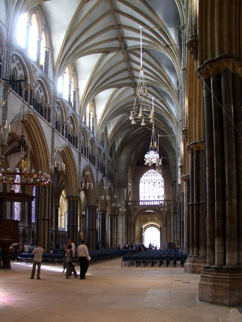 Interior of the Cathedral, Lincoln