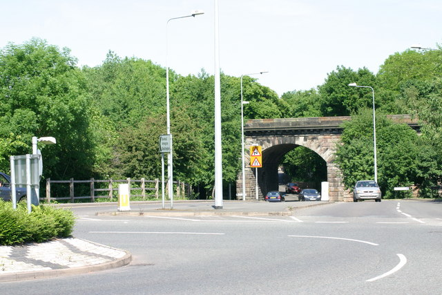 Ankerdrive leading on to the Amington Road  (1)
