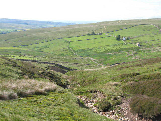 The cleugh of Noble Sike and the Byerhope Valley