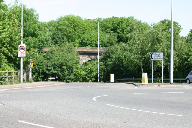 Ankerdrive leading on to the Amington Road  (2)