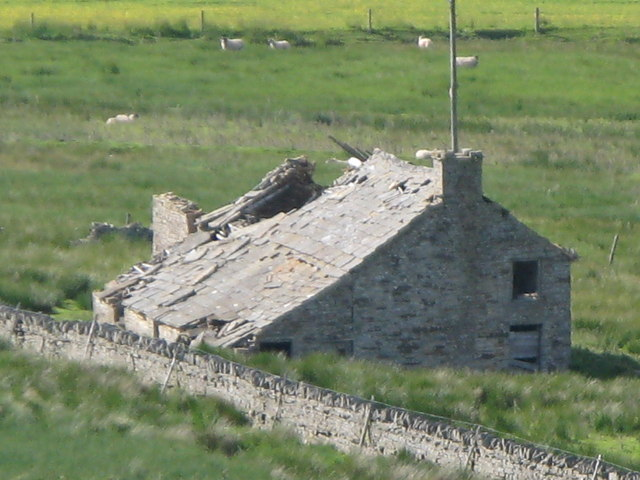 (Another) ruined cottage in the Byerhope Valley