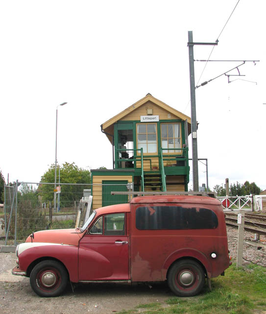 Parked by the signal box