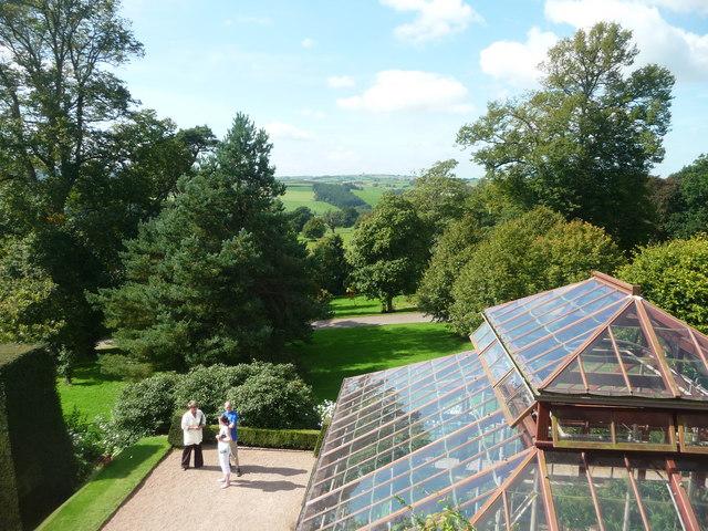 Mid Devon : Knightshayes Court & Conservatory Roof
