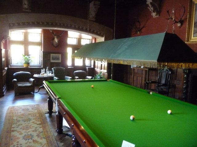Mid Devon : Knightshayes Court, Billiards Room