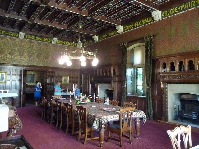 Mid Devon : Knightshayes Court, Dining Room