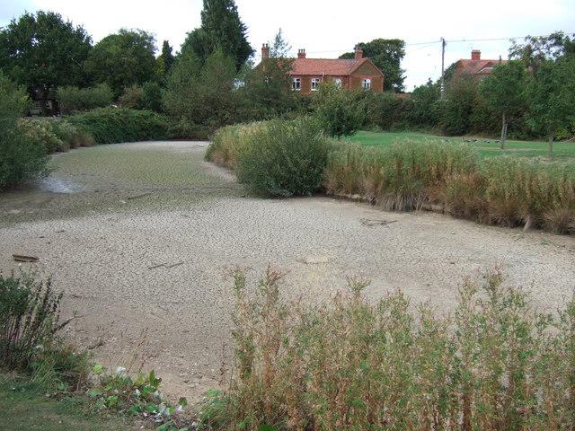 Dry Village Pond, Station Road, Heacham