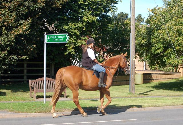 Riding through Granborough