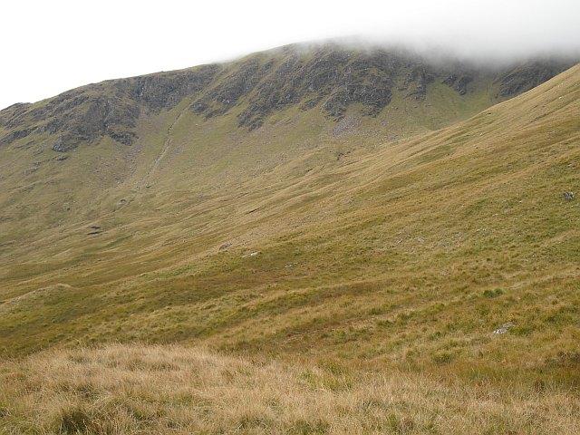 East side of Beinn a' Chreachain