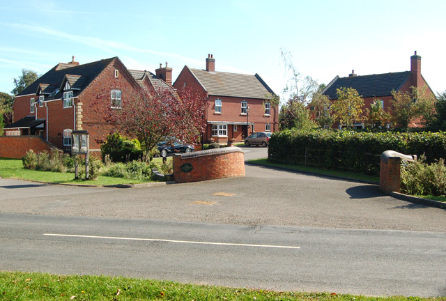'The Steeples' housing estate, Grandborough