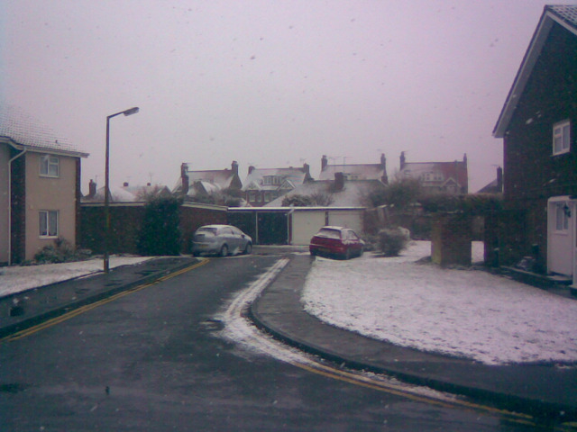 A Snowy Woodford Court #3