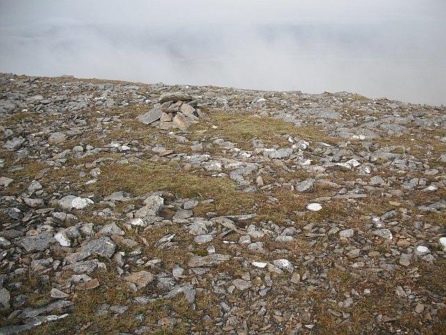 Cairn, Northeast ridge of Beinn a' Chreachain