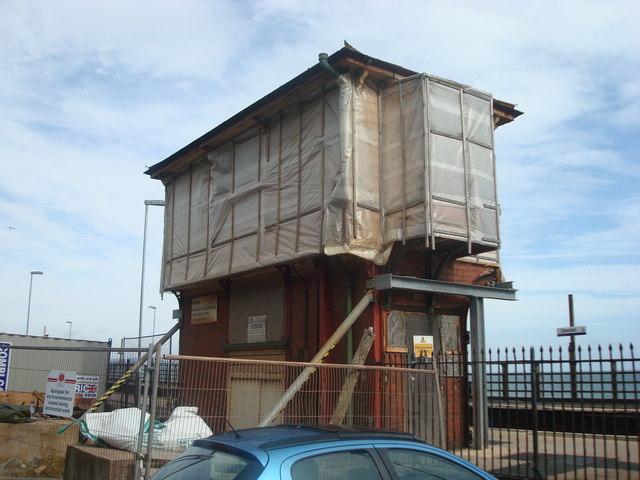Dawlish signal box