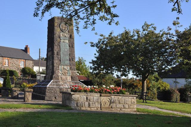 War Memorial - Dinas Powys