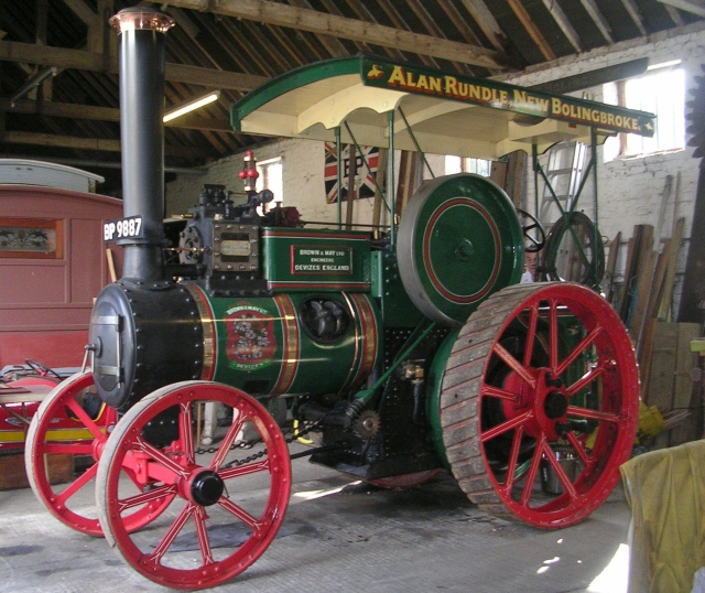 Brown & May Ltd Steam Engine at Rundle's