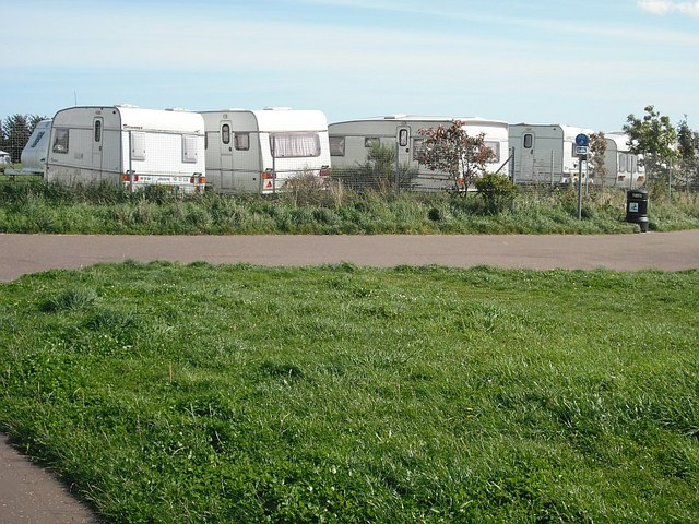 Caravan site,  Monifieth