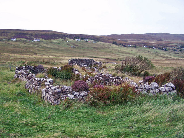 Remains of crofthouse