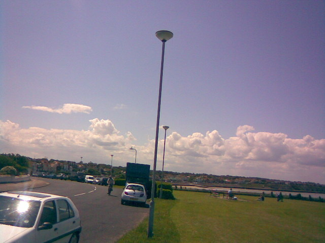 View down the hill on Sea Road to West Bay and Westgate
