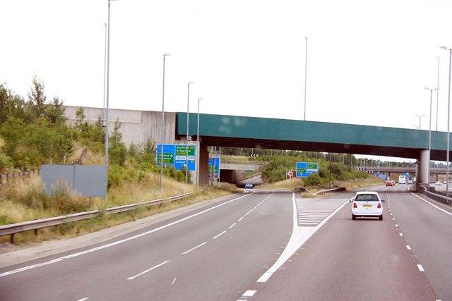 M11 junction 8